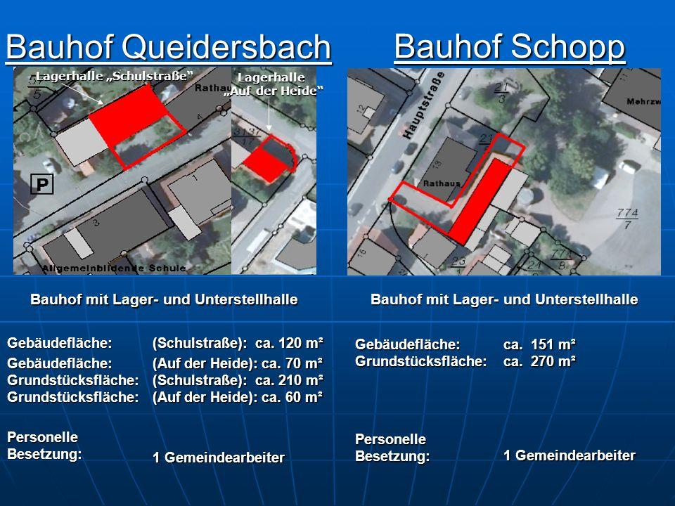 Bauhof Schopp Bauhof Queidersbach