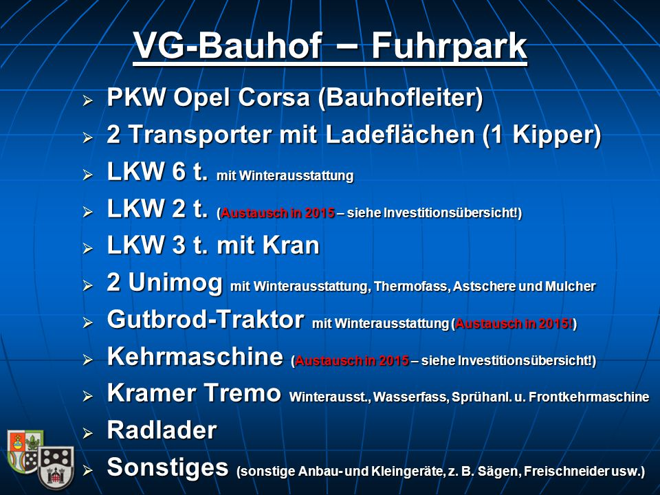 VG-Bauhof – Fuhrpark PKW Opel Corsa (Bauhofleiter)