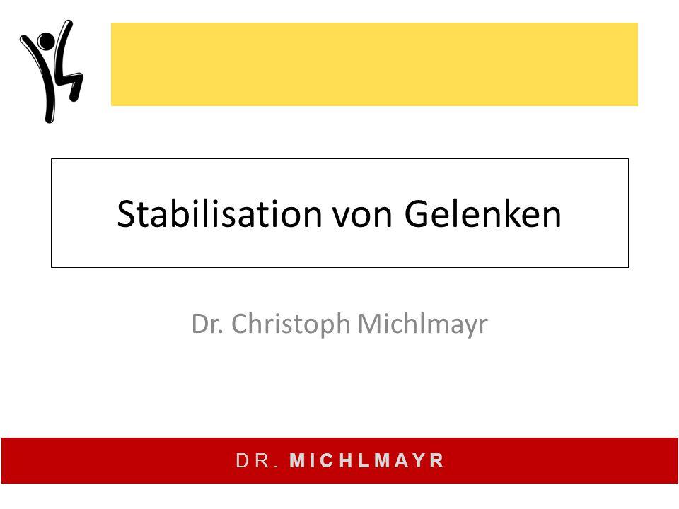 Stabilisation von Gelenken