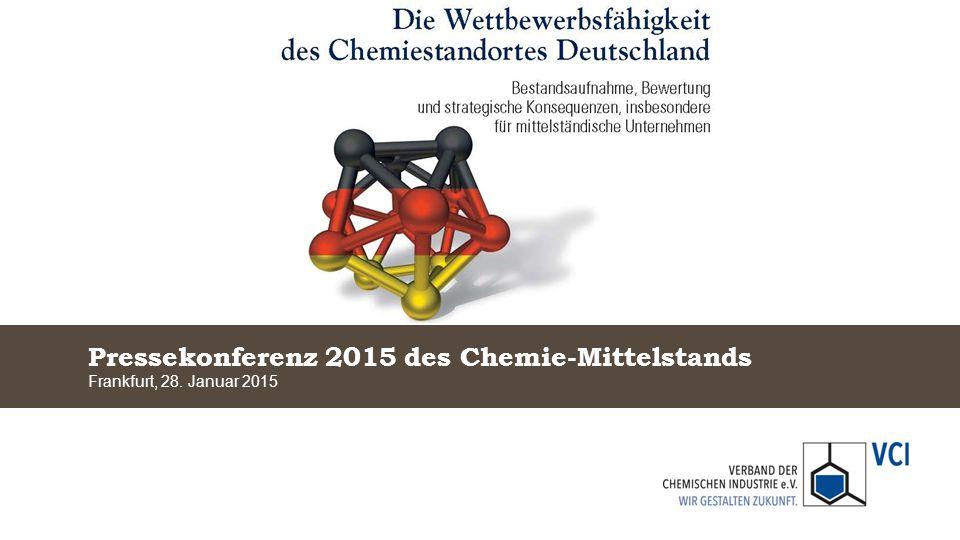 Pressekonferenz 2015 des Chemie-Mittelstands