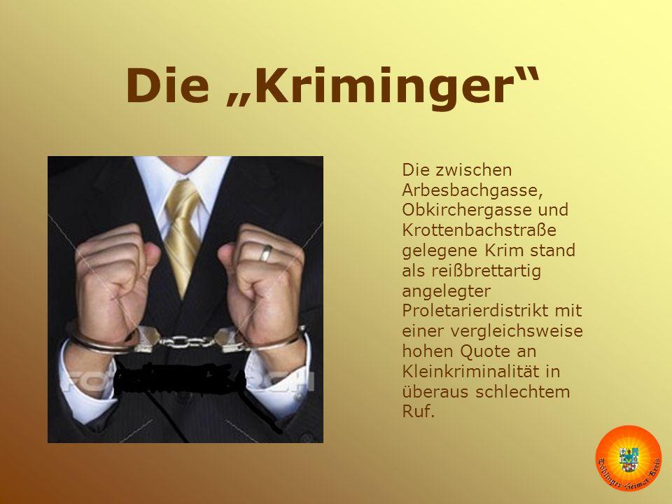 """Die """"Kriminger"""