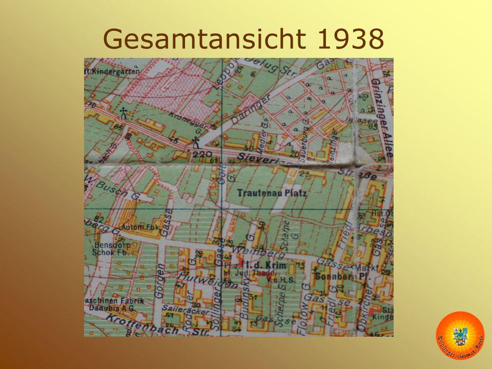 Gesamtansicht 1938 Die Karte ist aus dem Krieg