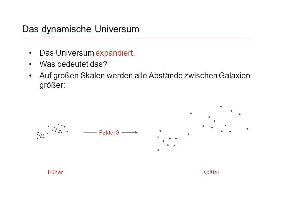 Das dynamische Universum