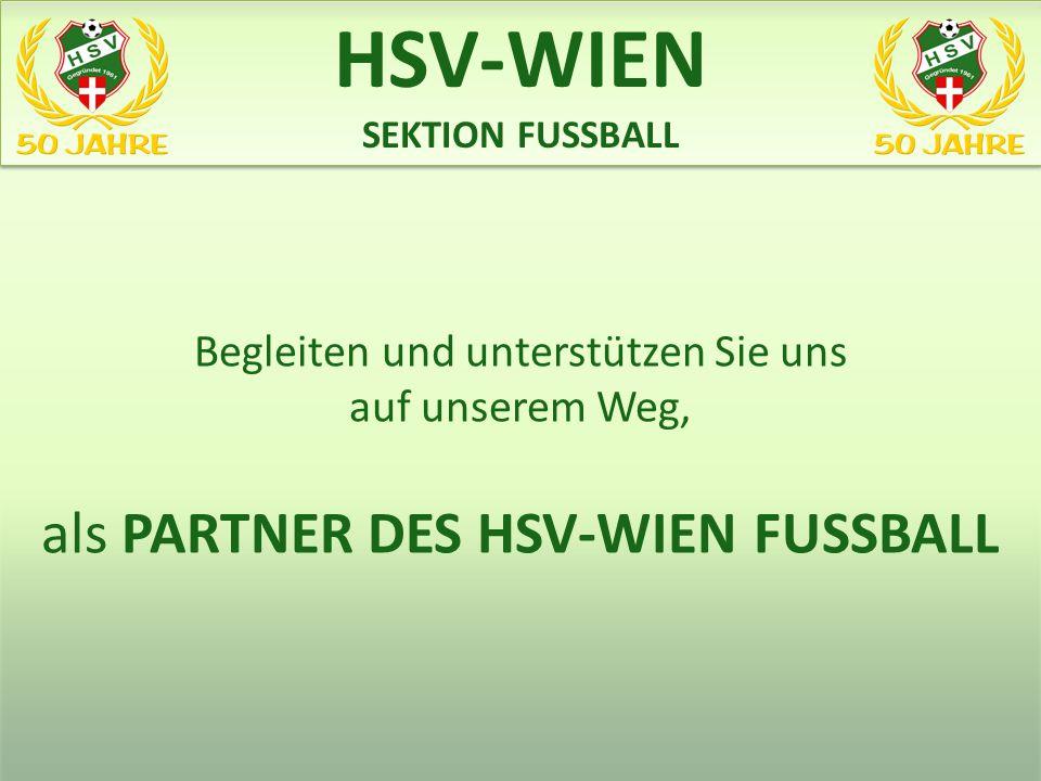 HSV-WIEN als PARTNER DES HSV-WIEN FUSSBALL