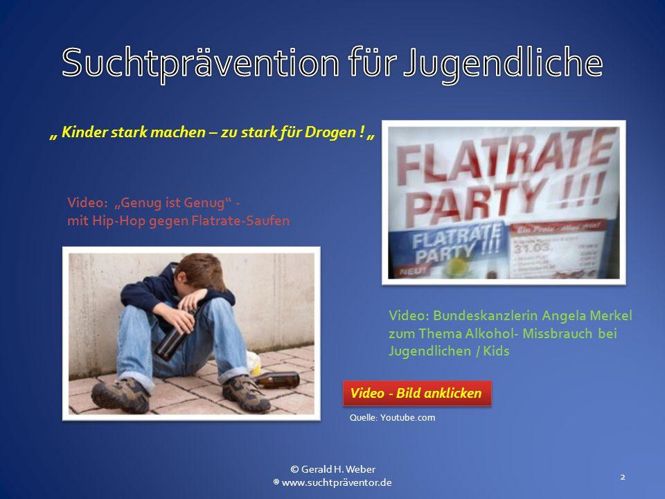 Suchtprävention für Jugendliche
