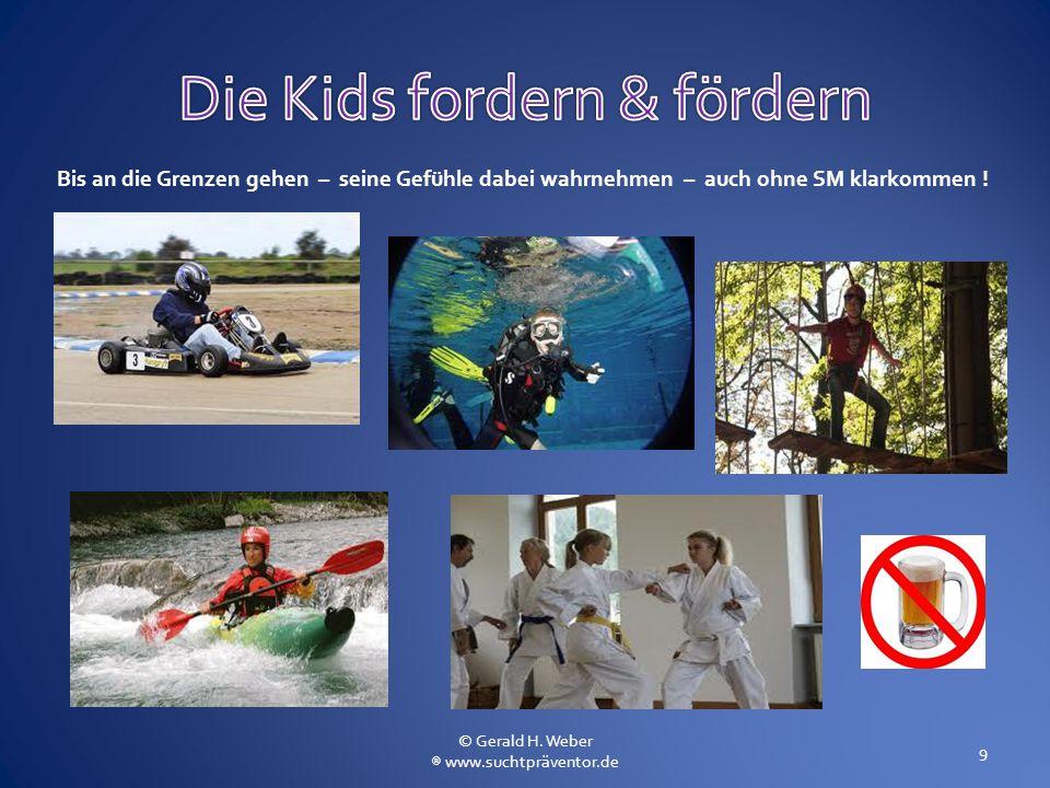 Die Kids fordern & fördern