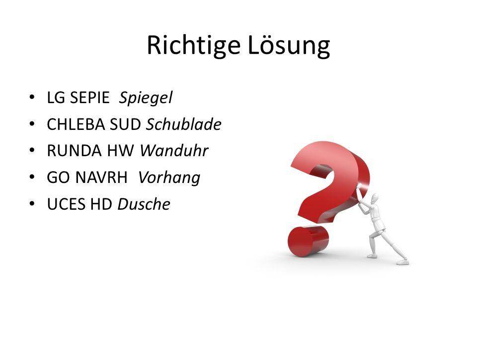 Richtige Lösung LG SEPIE Spiegel CHLEBA SUD Schublade RUNDA HW Wanduhr