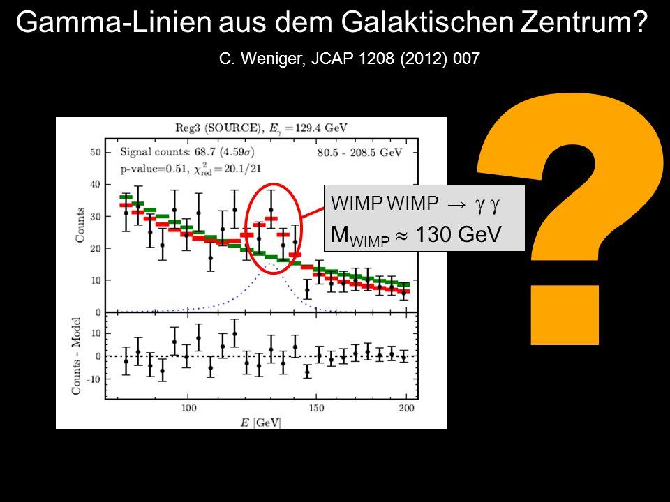 Gamma-Linien aus dem Galaktischen Zentrum