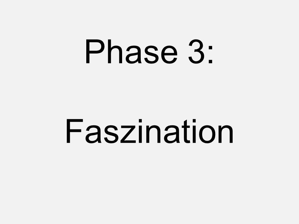 Phase 3: Faszination