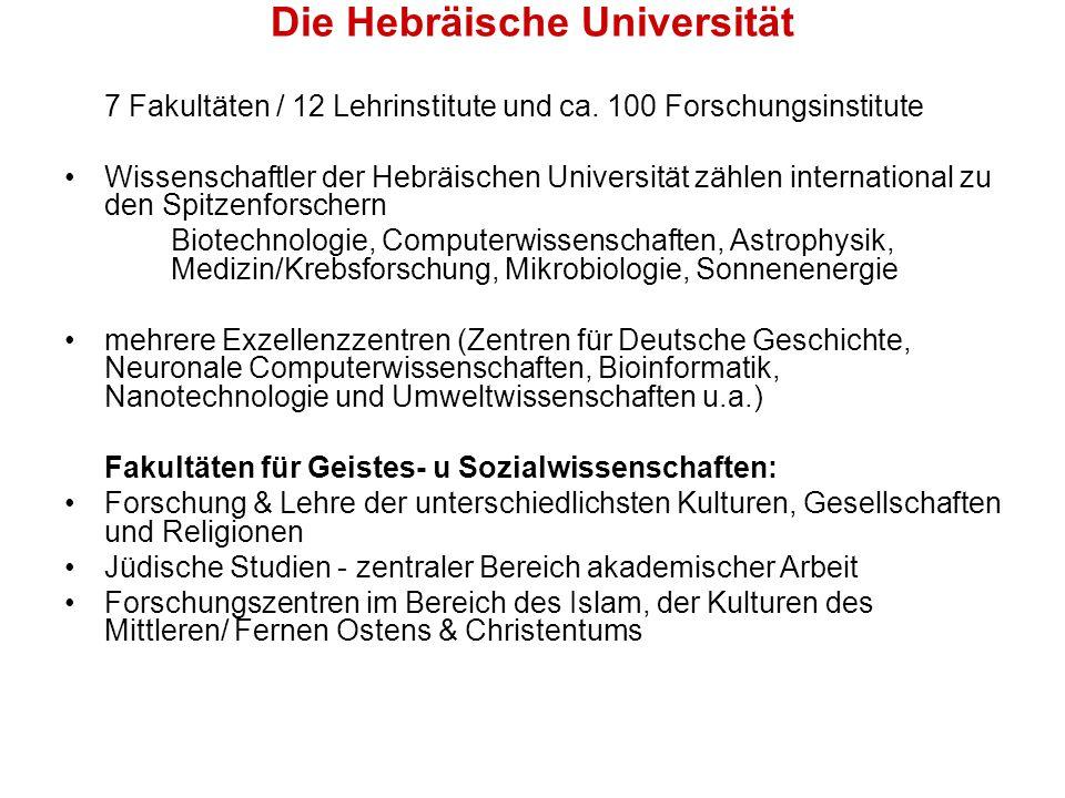 Die Hebräische Universität
