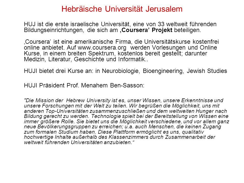Hebräische Universität Jerusalem
