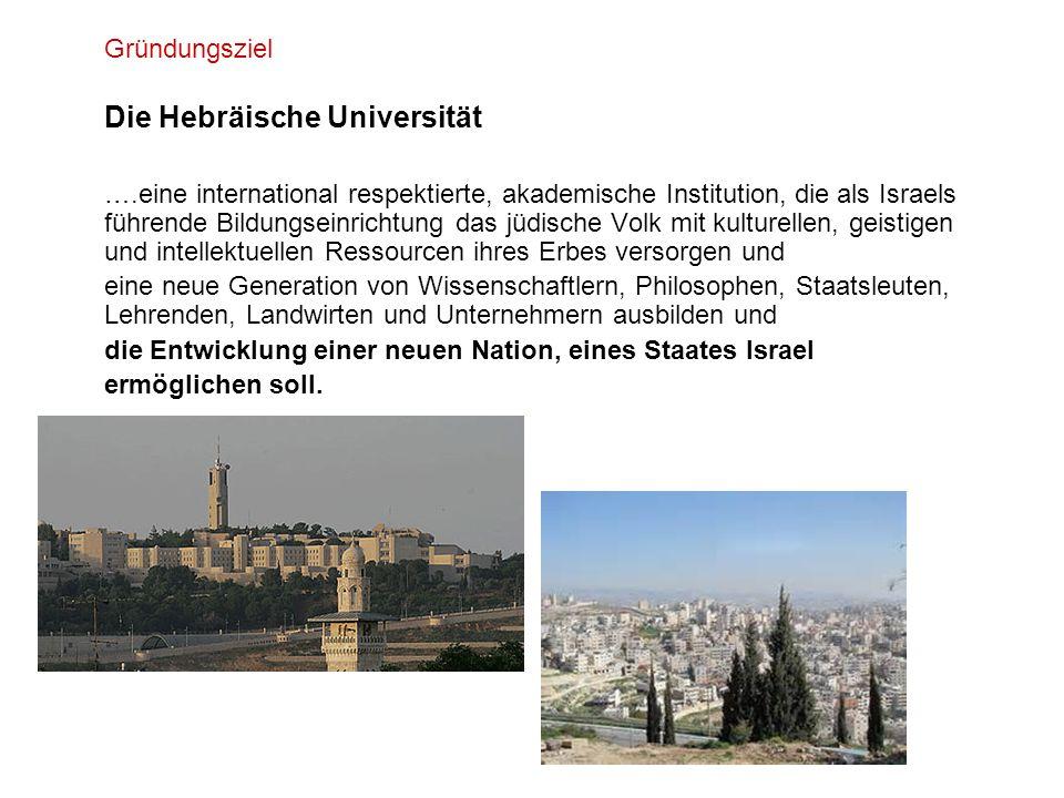die Entwicklung einer neuen Nation, eines Staates Israel