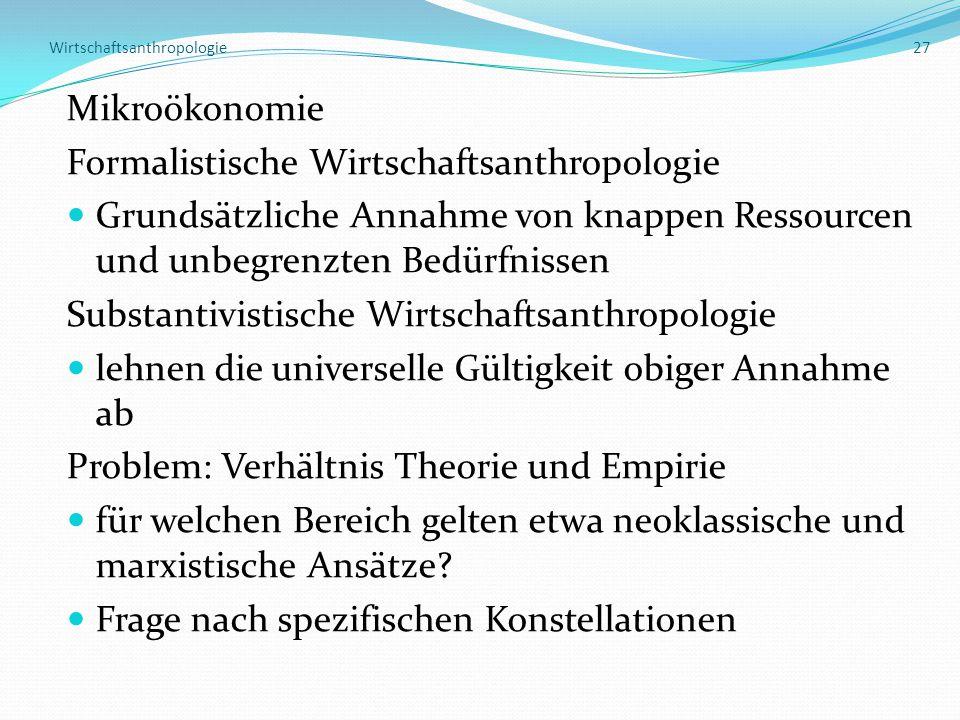 Wirtschaftsanthropologie 27