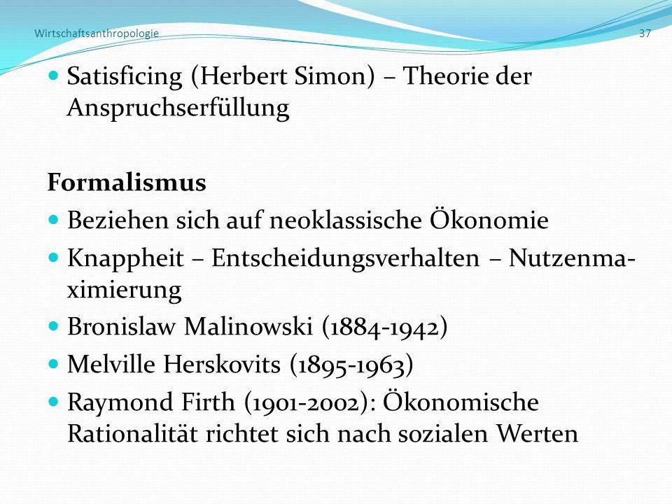 Wirtschaftsanthropologie 37