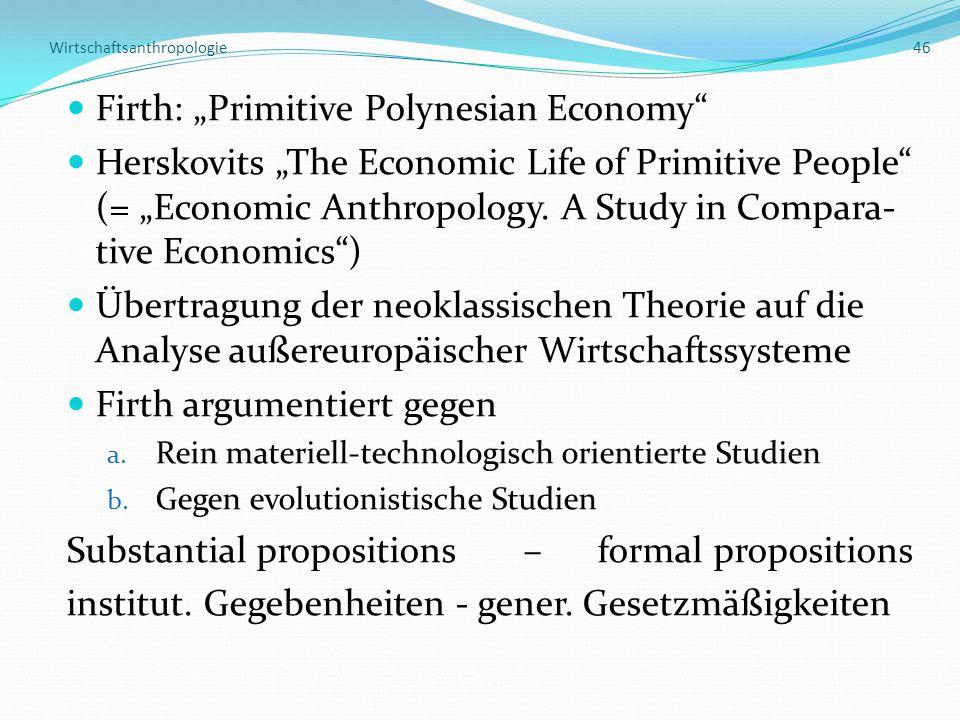 Wirtschaftsanthropologie 46
