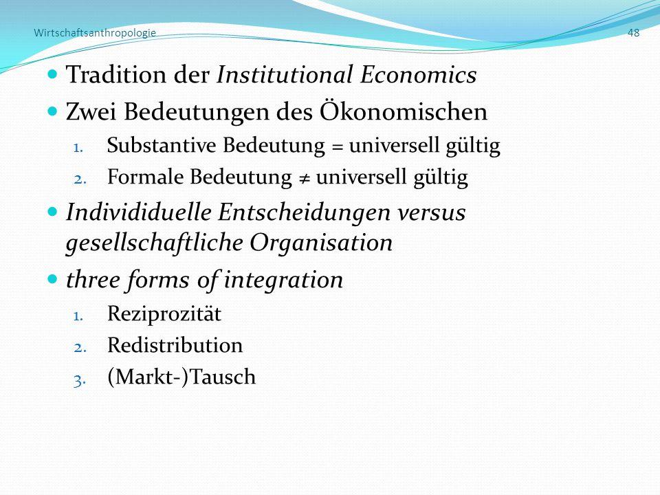 Wirtschaftsanthropologie 48