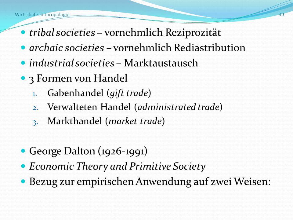Wirtschaftsanthropologie 49