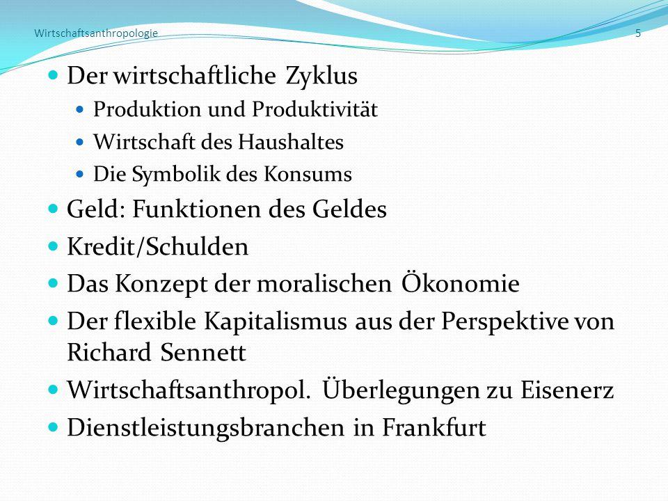 Wirtschaftsanthropologie 5