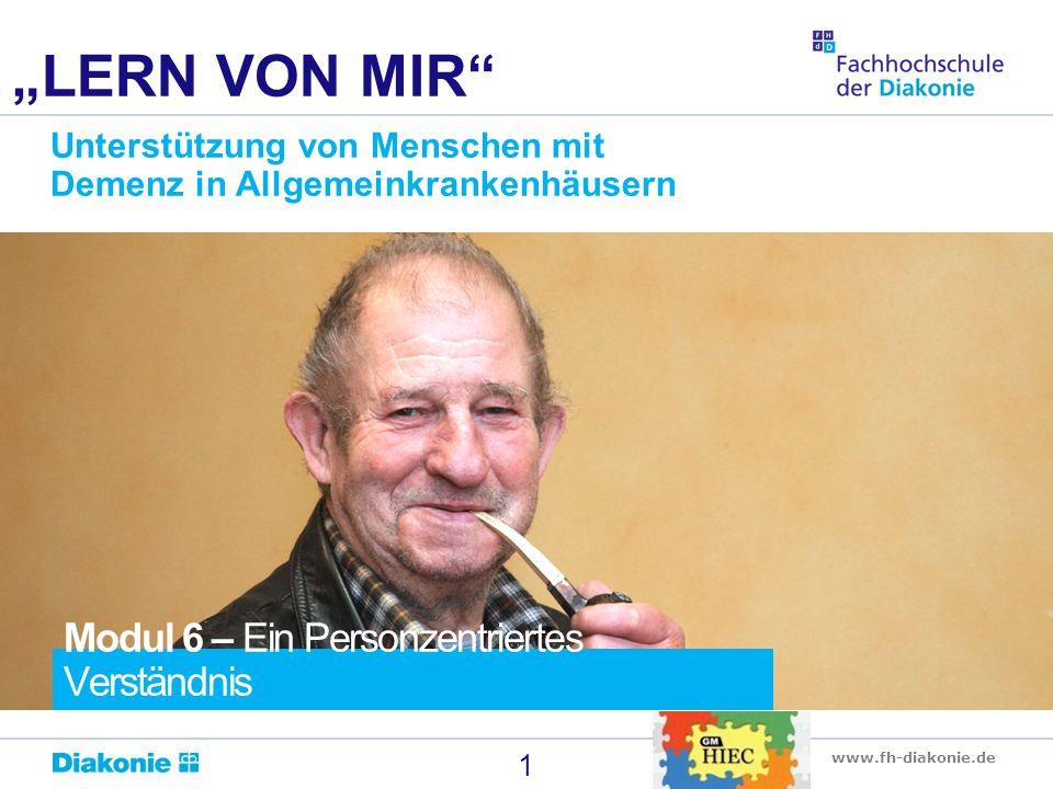 """""""LERN VON MIR Modul 6 – Ein Personzentriertes Verständnis"""