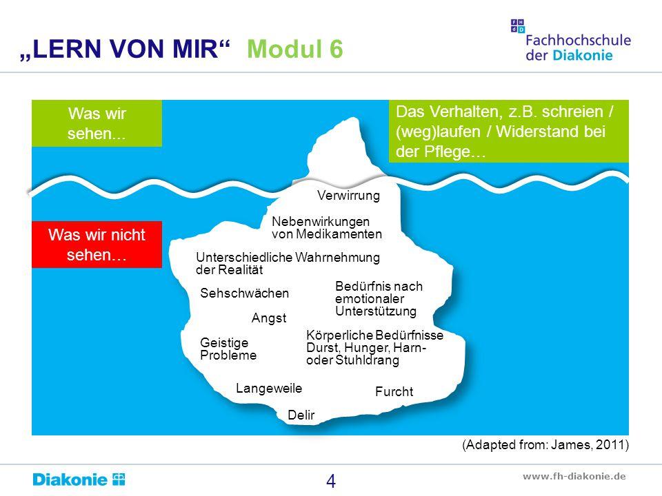"""""""LERN VON MIR Modul 6 Was wir sehen..."""