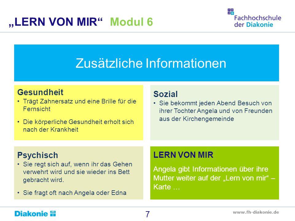Zusätzliche Informationen