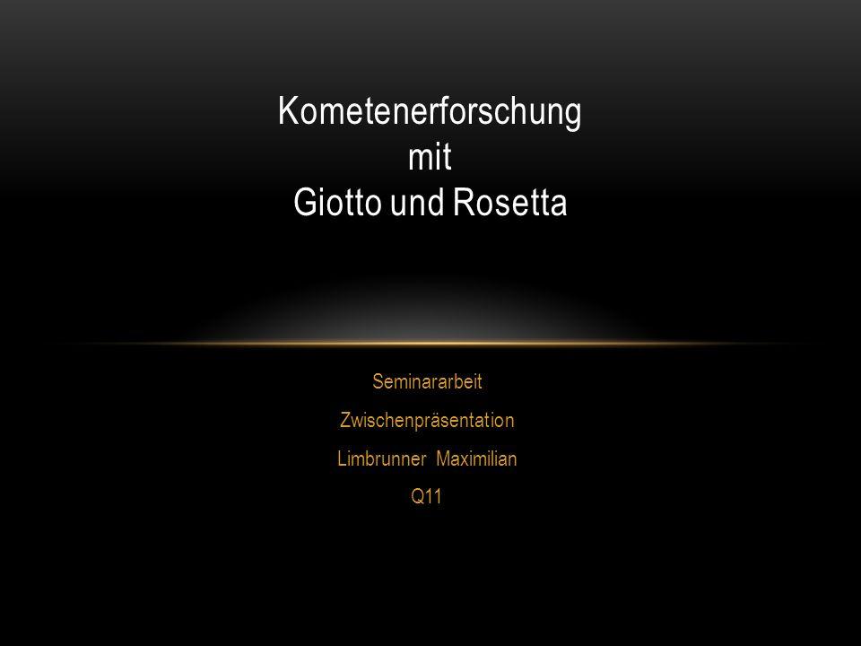 Kometenerforschung mit Giotto und Rosetta