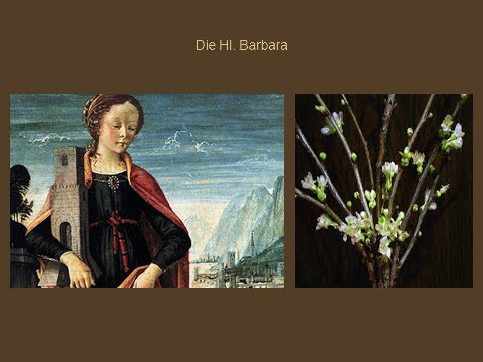 Die Hl. Barbara