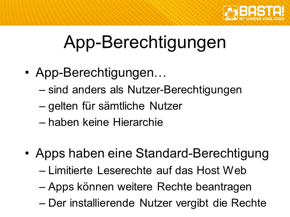 App-Berechtigungen App-Berechtigungen…