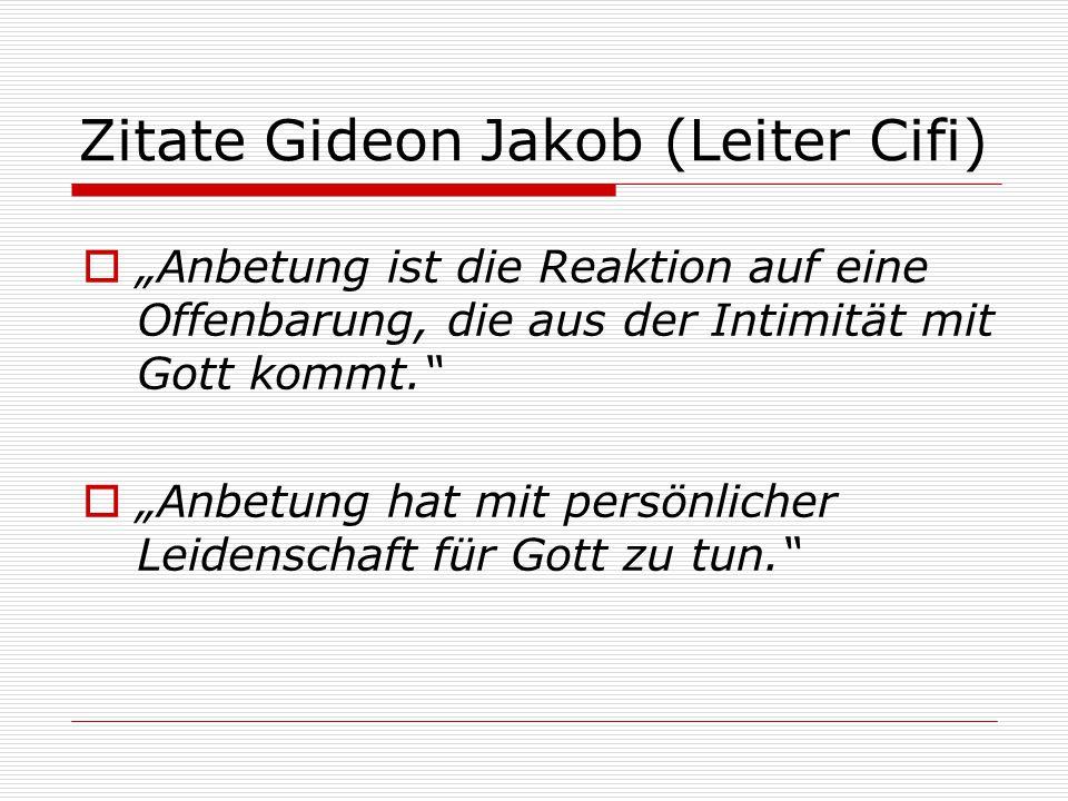 Zitate Gideon Jakob (Leiter Cifi)