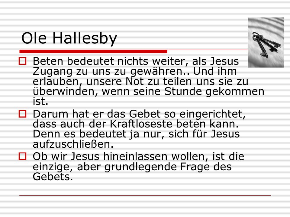 Ole Hallesby