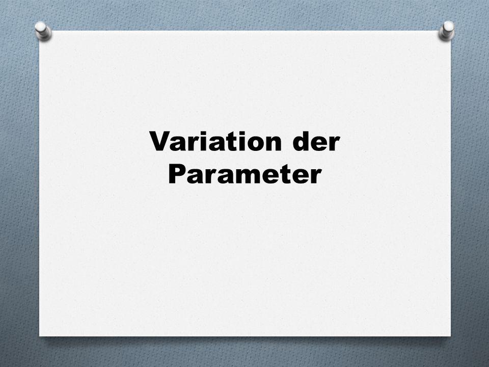 Variation der Parameter