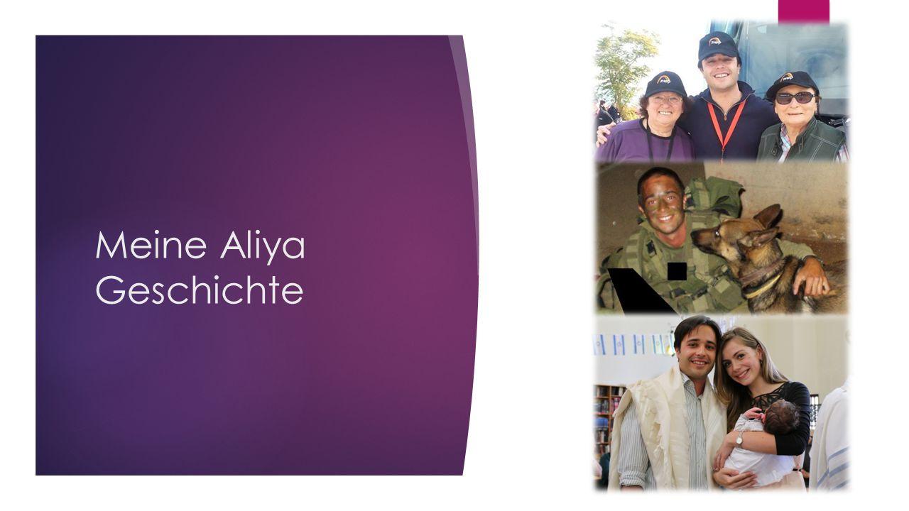 Meine Aliya Geschichte