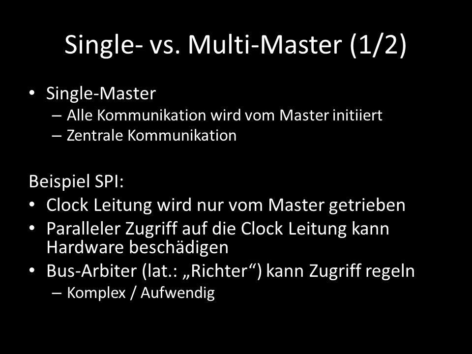 Single- vs. Multi-Master (1/2)