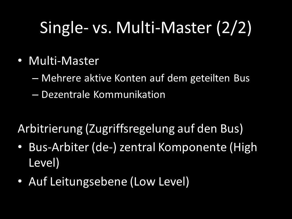 Single- vs. Multi-Master (2/2)