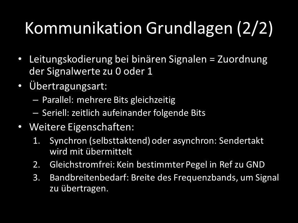 Kommunikation Grundlagen (2/2)