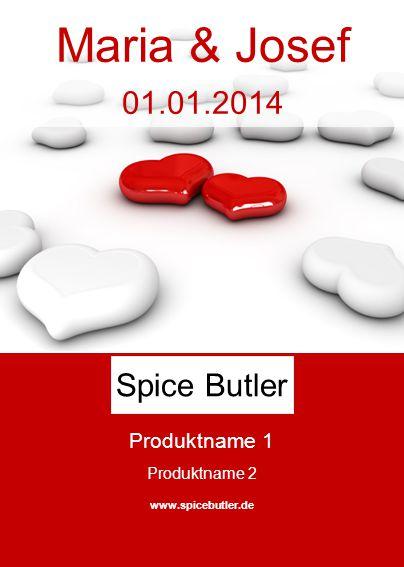 Maria & Josef 01.01.2014 Spice Butler Produktname 1 Produktname 2
