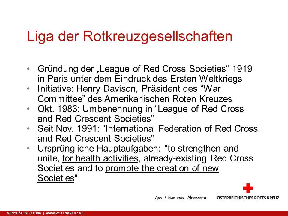 Liga der Rotkreuzgesellschaften