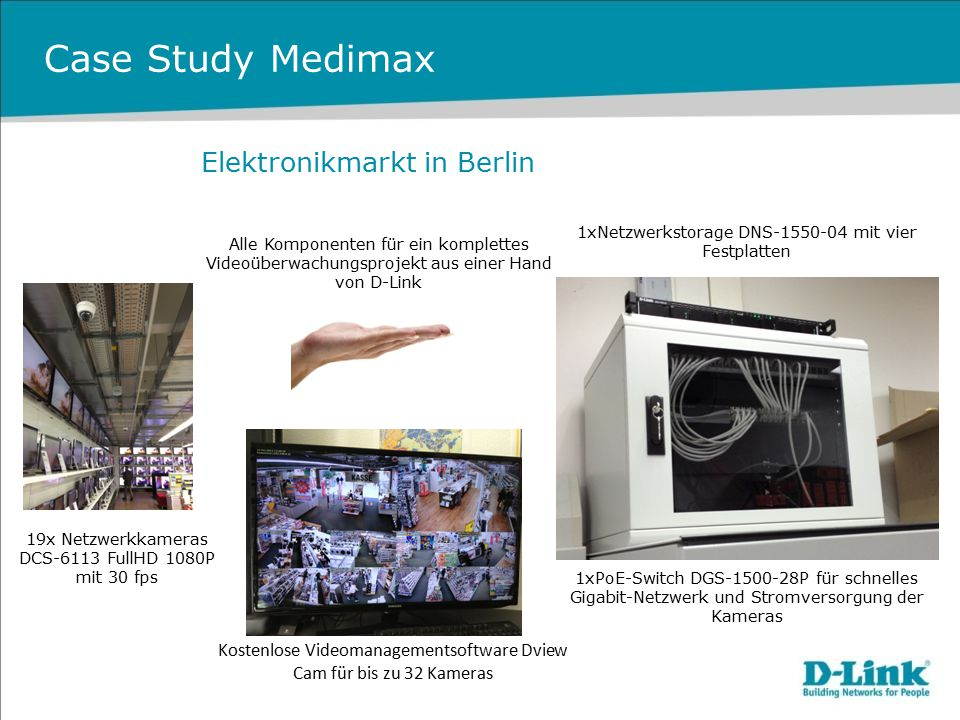 Case Study Medimax Elektronikmarkt in Berlin