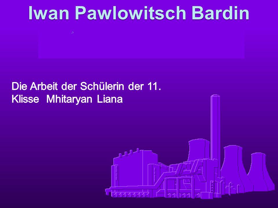 Iwan Pawlowitsch Bardin