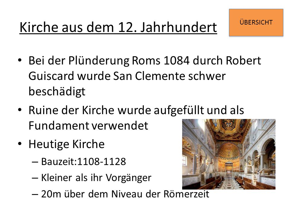 Kirche aus dem 12. Jahrhundert