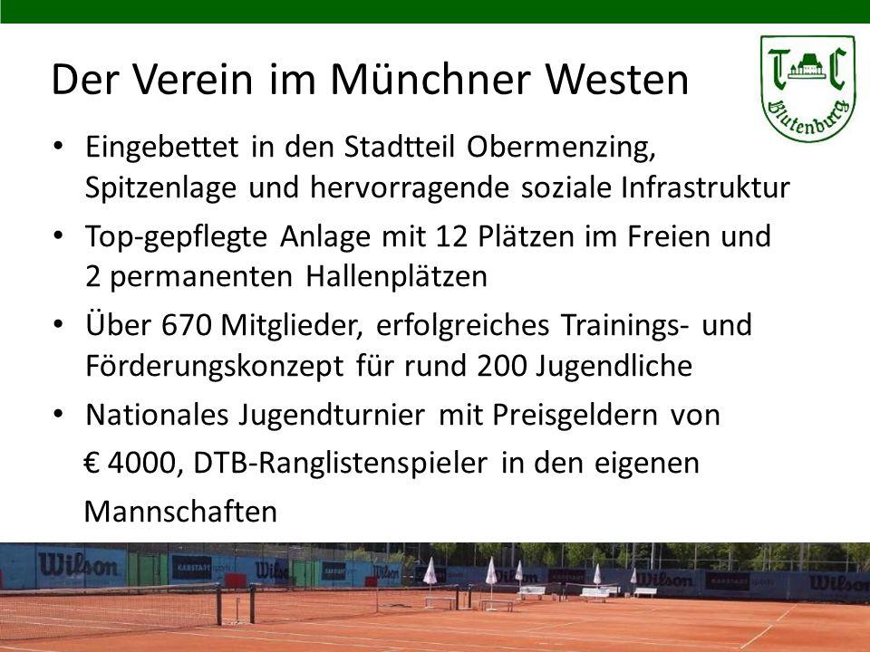 Der Verein im Münchner Westen