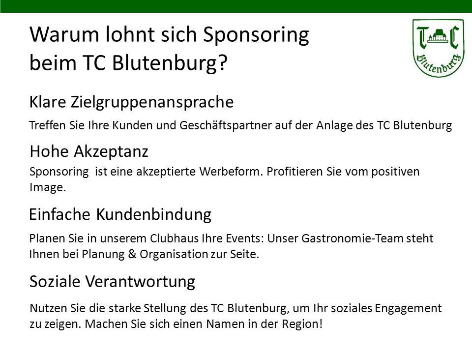 Warum lohnt sich Sponsoring beim TC Blutenburg