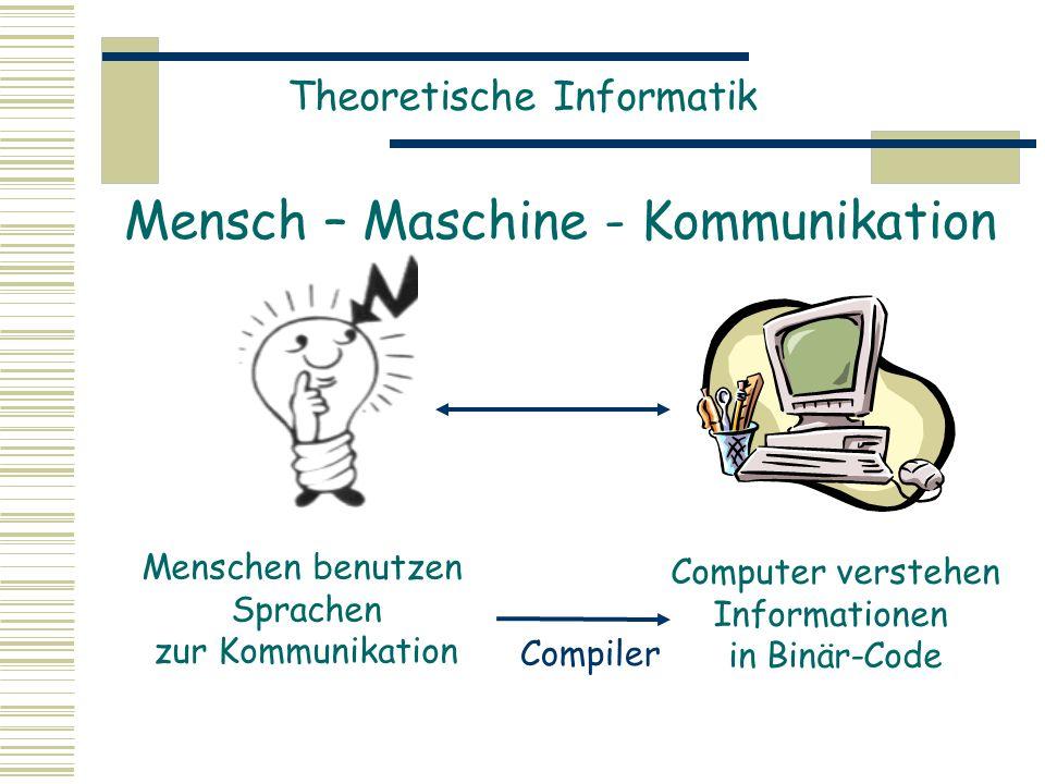 Mensch – Maschine - Kommunikation