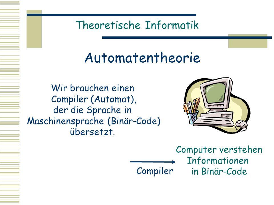 Maschinensprache (Binär-Code)