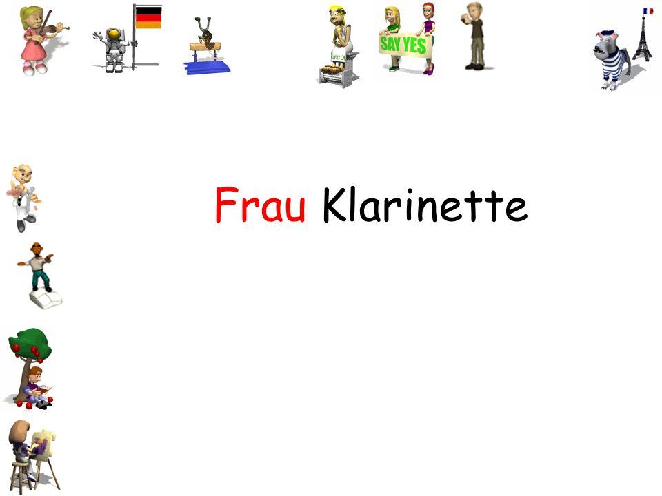 Frau Klarinette