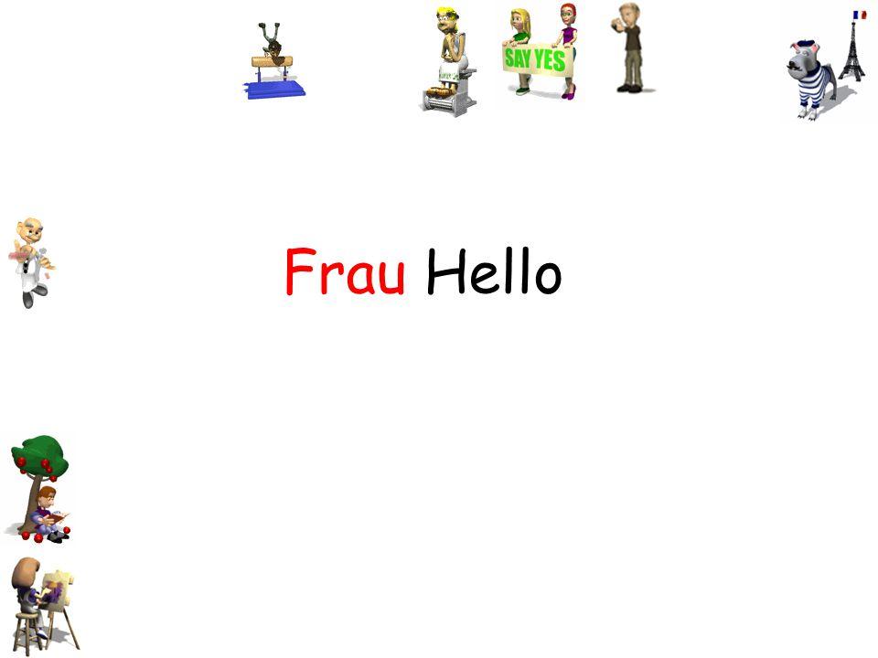 Frau Hello