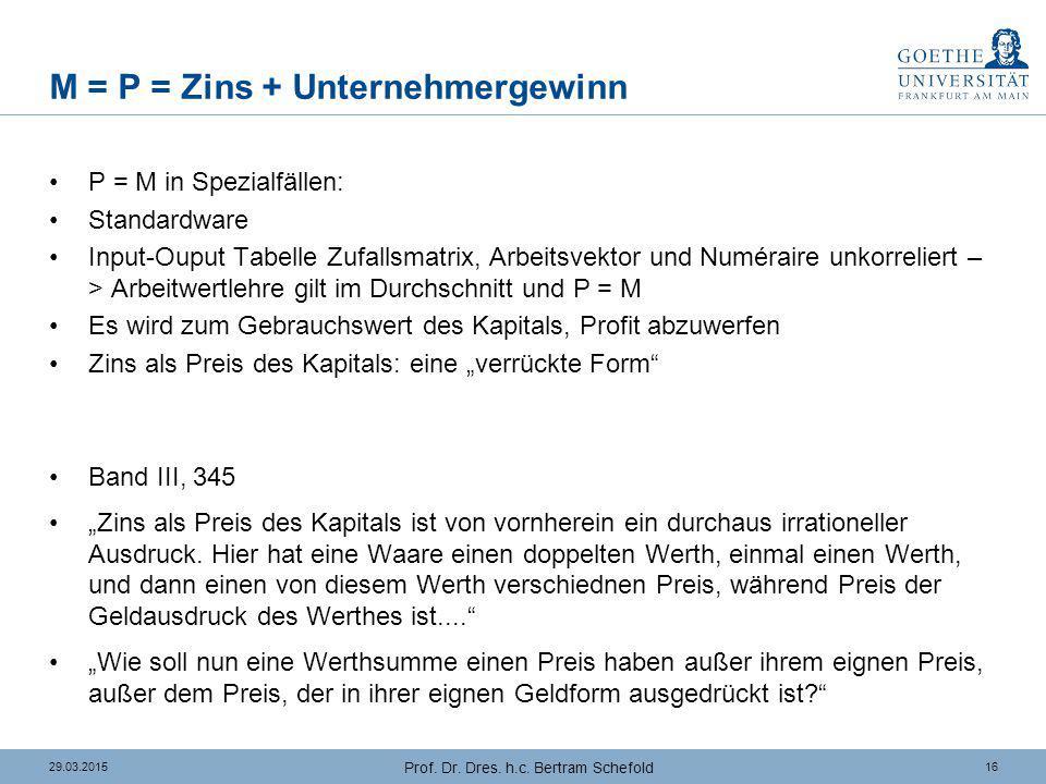 Elemente der Böhm-Bawerkschen Lösung (1)