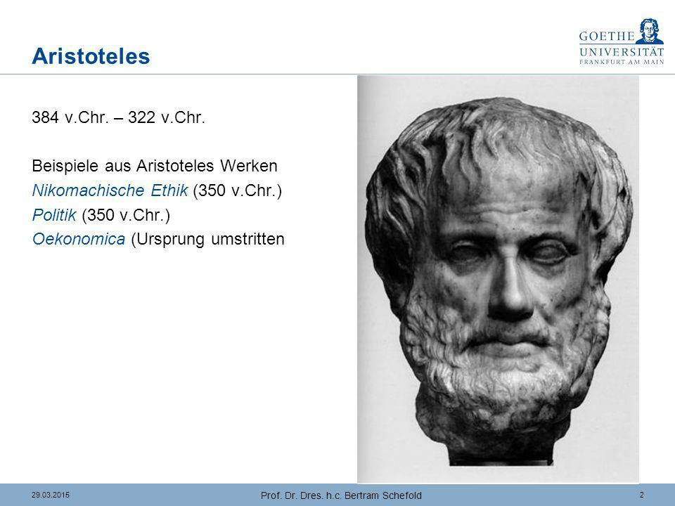 """Aristoteles Politik (1): Das """"gute Leben"""