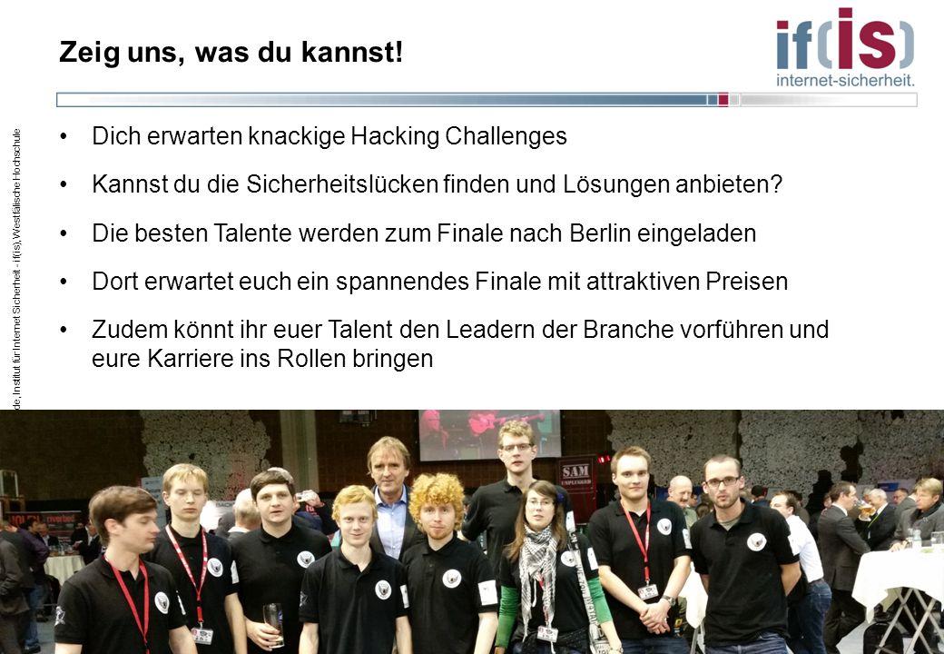 Zeig uns, was du kannst! Dich erwarten knackige Hacking Challenges
