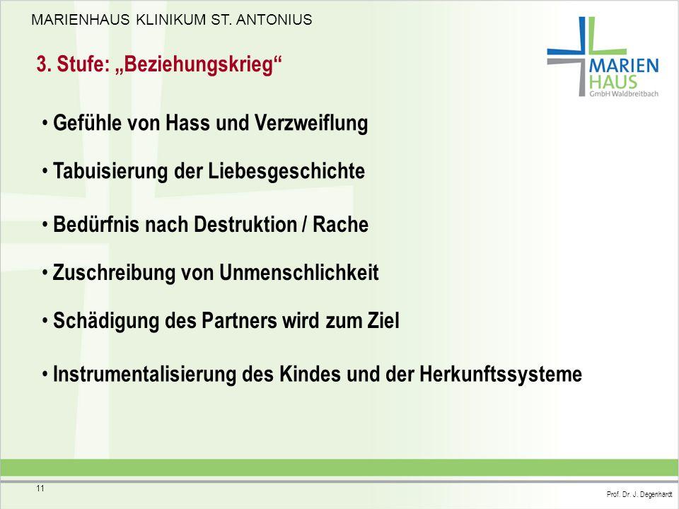 """3. Stufe: """"Beziehungskrieg"""